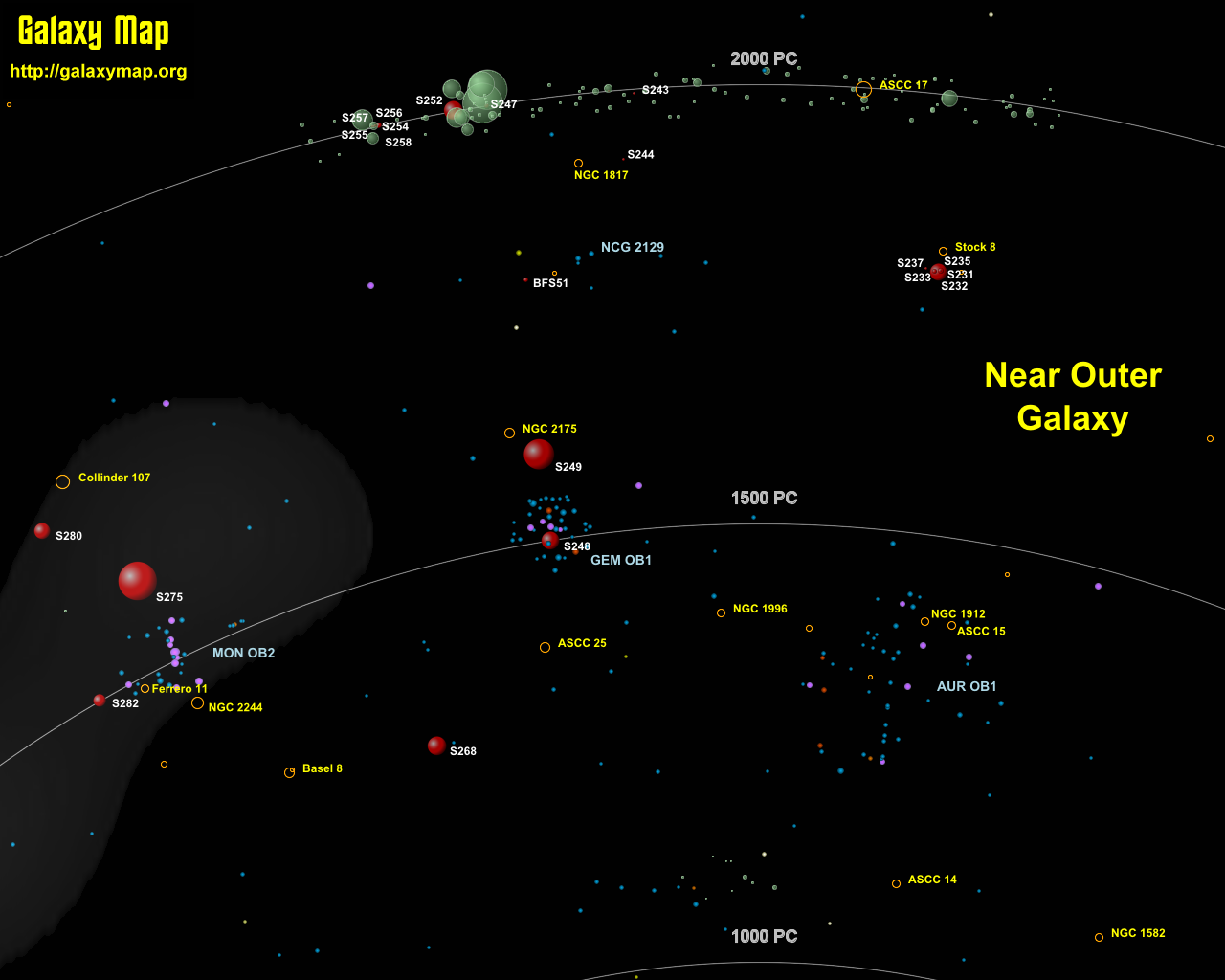 maps of galaxies close to earth - photo #10