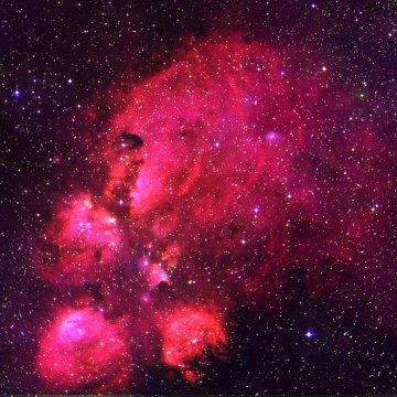 Cat's Paw nebula (Sh 2-8)