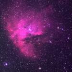 Pac Man nebula (Sh 2-184)